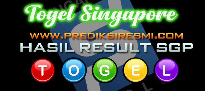 Hasil Result SGP / Keluaran Togel Singapore Hari Ini